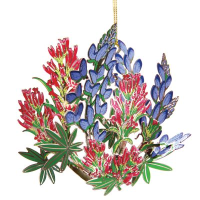 Indian Paintbrush Wildflower Ornament