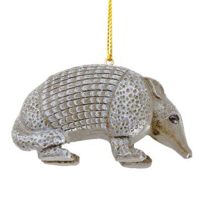 Armadillo Resin Ornament