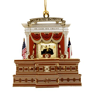 Texas House Ornament